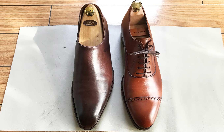 靴 ホールカットとは