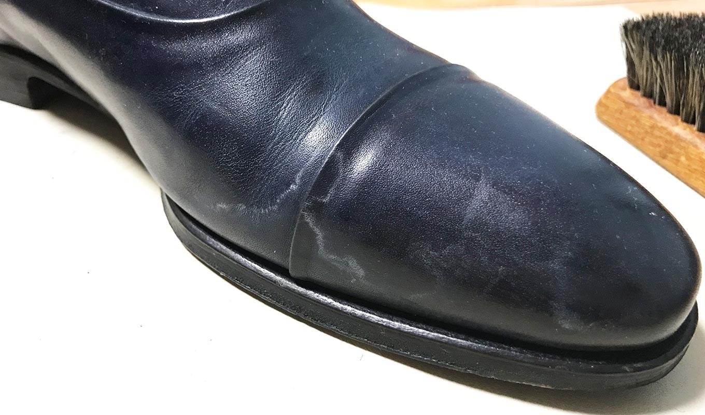 革靴についてしまった雨染みの落とし方と ...